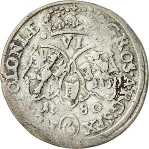 Jan III Sobieski (1674–1696), szóstak koronny, Bydgoszcz; 1680