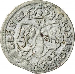 Jan III Sobieski (1674–1696), szóstak koronny, Bydgoszcz; 1682