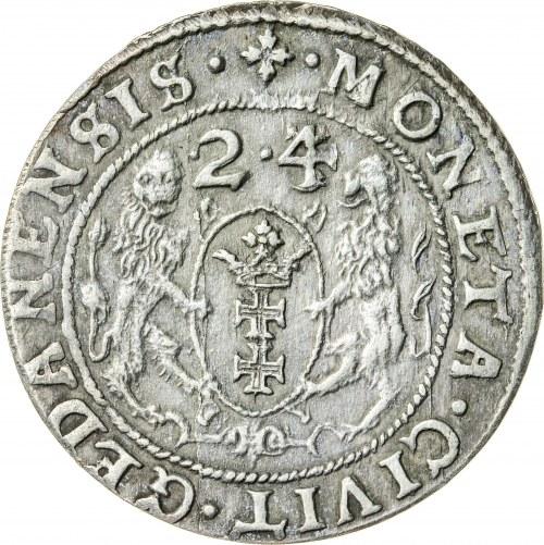 Zygmunt III Waza (1587–1632), ort gdański, Gdańsk; 1624