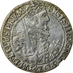 Zygmunt III Waza (1587–1632), ort koronny, Bydgoszcz; 1621