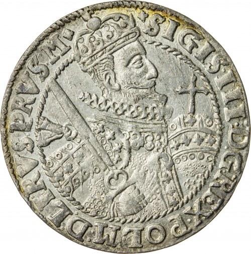 Zygmunt III Waza (1587–1632), ort koronny, Bydgoszcz; 1622
