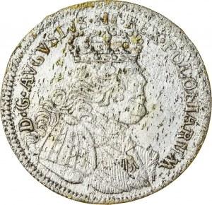 August III Sas (1733-1763), szóstak koronny, Lipsk; 1755