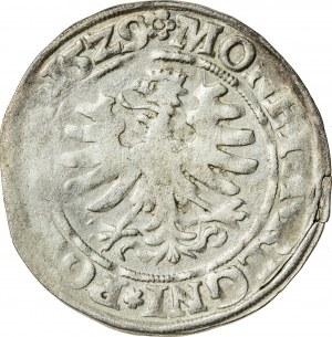 Zygmunt I Stary (1506–1548), grosz koronny, Kraków; 1529
