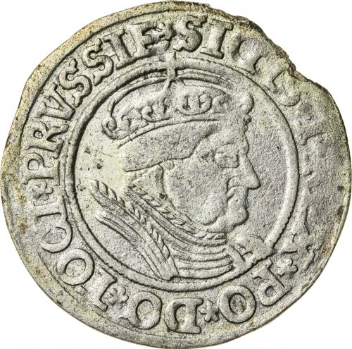 Zygmunt I Stary (1506–1548), grosz ziem pruskich, Toruń; 1535