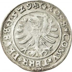 Zygmunt I Stary (1506–1548), grosz ziem pruskich, Toruń; 1529