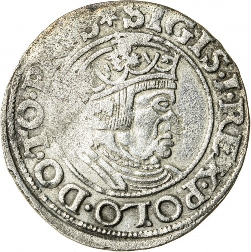 Zygmunt I Stary (1506–1548), grosz gdański, Gdańsk; 1535