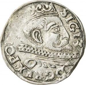 Zygmunt III Waza (1587–1632), trojak koronny, Wschowa; 1598