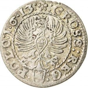Zygmunt III Waza (1587–1632), grosz koronny, Kraków; 1613