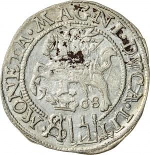Zygmunt II August [1544 (1548) –1572], grosz litewski na stopę polską, Tykocin; 1568