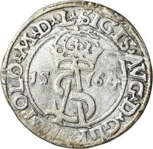 Zygmunt II August [1544 (1548) –1572], trojak litewski, Wilno; 1564