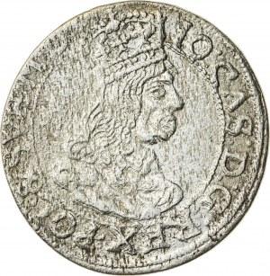 Jan Kazimierz (1649–1668), szóstak koronny, Kraków; 1662