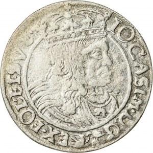 Jan Kazimierz (1649–1668), szóstak koronny, Lwów; 1662