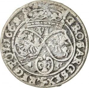 Jan Kazimierz (1649–1668), szóstak koronny, Bydgoszcz; 1662