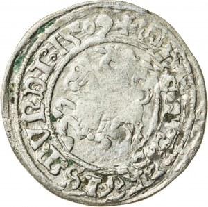 Zygmunt I Stary (1506–1548), półgrosz litewski, Wilno; 1509