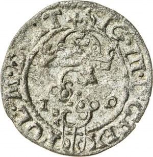Zygmunt III Waza (1587–1632), szeląg koronny, Olkusz; 1589