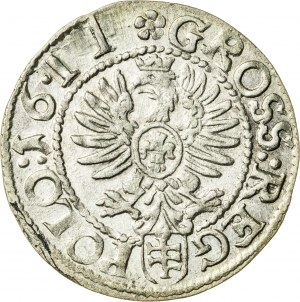 Zygmunt III Waza (1587–1632), grosz koronny, Kraków; 1611