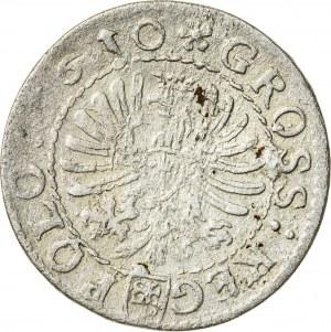 Zygmunt III Waza (1587–1632), grosz koronny, Kraków; 1610
