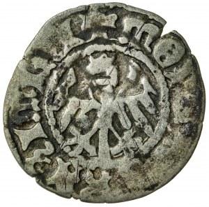 Kazimierz Jagiellończyk (1447-1492), półgrosz koronny, Kraków; 1479-1492