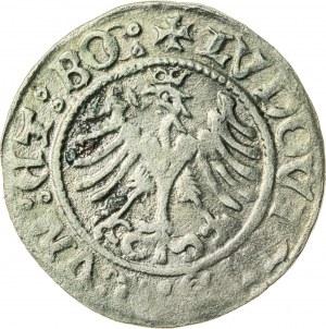Śląsk, Ludwik II Jagiellończyk (1509-1526), półgrosz, Świdnica; 1521