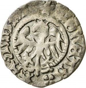 Kazimierz Jagiellończyk (1447-1492), półgrosz, Kraków; 1479-1492