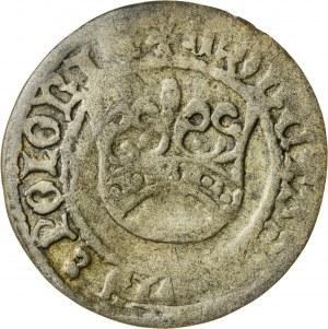 Aleksander Jagiellończyk (1501-1506), półgrosz koronny, Kraków; 1502-1506