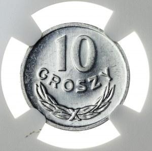 10 groszy 1981, MS 64 PL