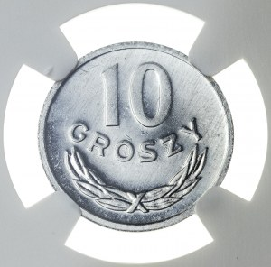 10 groszy 1981, MS 66 PL