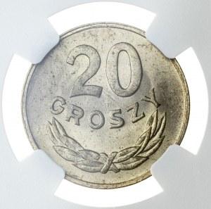 20 groszy 1949, MS 65