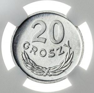 20 groszy 1976, MS 65 PL