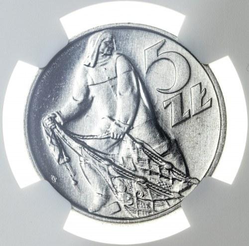 5 złotych 1959, MS 66