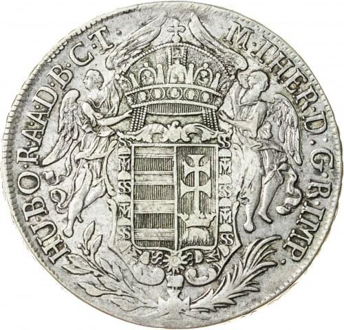 talar 1780 B, Kremnica, srebro