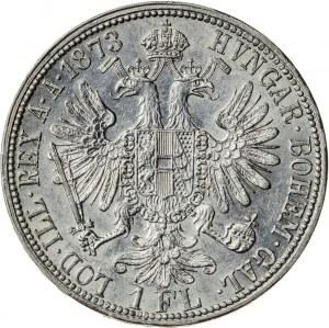 1 floren 1873, srebro
