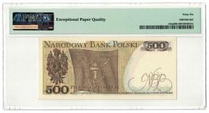500 złotych 1974, Tadeusz Kościuszko, PMG 66 EPQ, seria A