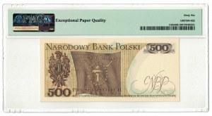 500 złotych 1976, Tadeusz Kościuszko, PMG 66 EPQ