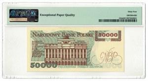 50 000 złotych 1989, Stanisław Staszic, PMG 64 EPQ