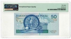 50 złotych 1994, Kazimierz III Wielki, PMG 58 EPQ