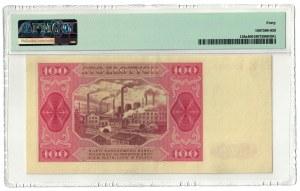 100 złotych 1948, PMG 40