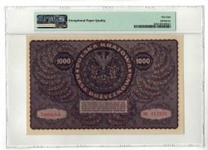 1 000 marek 1919, PMG 58 EPQ