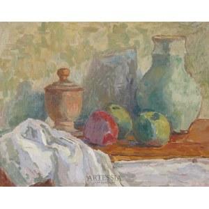 Leonard Pękalski (1896–1944), Martwa natura z zielonym dzbankiem