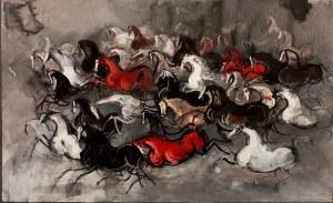 Józef Wilkoń, Konie