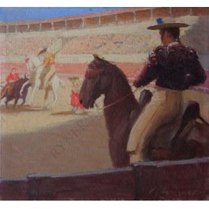 Artur Wasner (1887-1939), Corrida w Madrycie (1913)