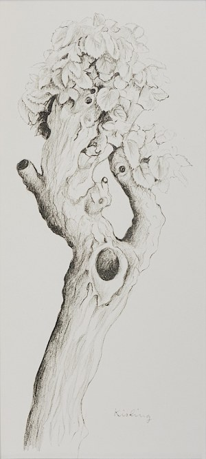 Mojżesz Kisling, Drzewo, z teki