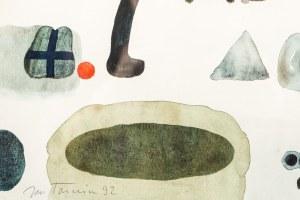 Jan TARASIN (1926 - 2009), Bez tytułu, 1992
