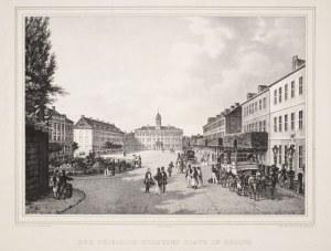 ELBLĄG. Plac Fryderyka Wilhelma (obecnie plac Słowiański), rys. i lit. F. Bils