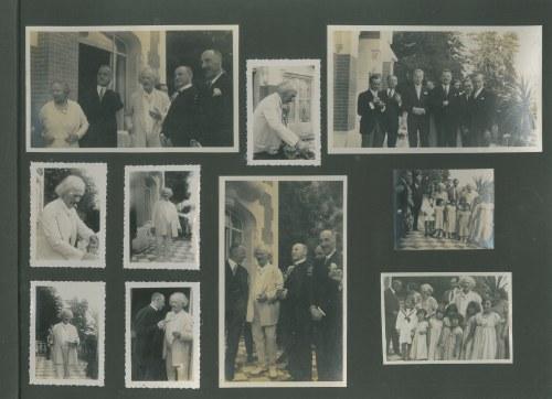 PADEREWSKI, IGNACY. Album zdjęć poświęcony Ignacemu Janowi Paderewskiemu (1860