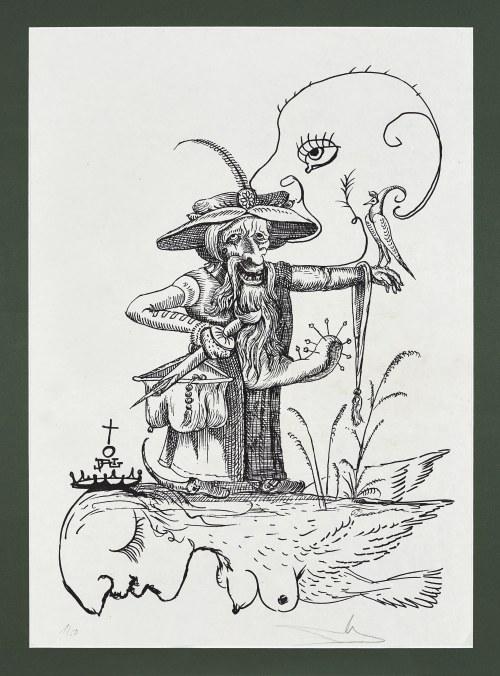 Salvador Dali (1904-1989), Les Songes Drolatiques de Pantagruel, 1973