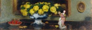 Alfons KARPIŃSKI (1875-1961), Martwa natura z figurką