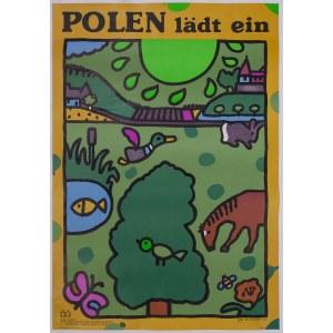 Jan MŁODOŻENIEC (1929-2000), Plakat - Polen