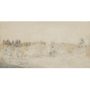 Grottger Artur, BITWA, OK. 1852-1854