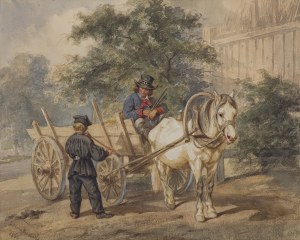 Kossak Juliusz, SPRZEDAWCA FUJAREK, 1863